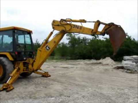 For Sale John Deere 310D Loader Backhoe Cab Hydraulic Diesel