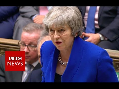 PM Theresa May addresses MPs - BBC News