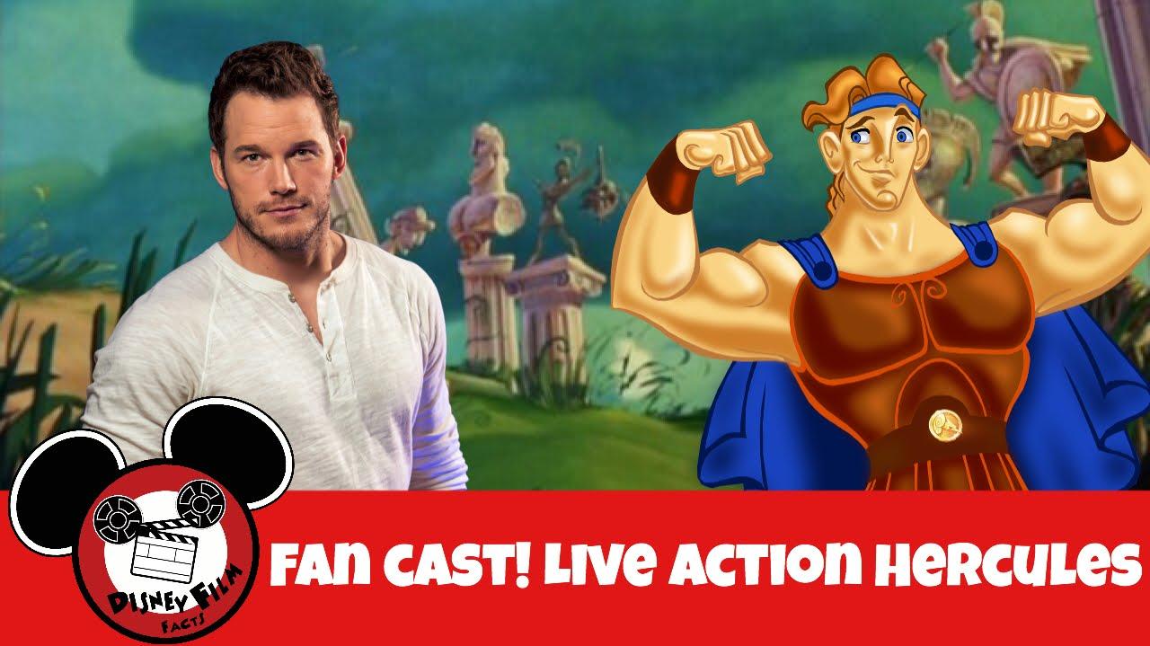 Disney Hercules Live Action Fan Cast