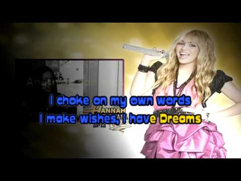 Ordinary Girl - Hannah Montana (Karaoke Instrumental).flv