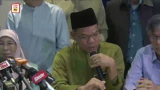 Sidang media oleh Ketua Umum PKR, Datuk Seri Anwar Ibrahim tentang Pilihan Raya Kecil (PRK)