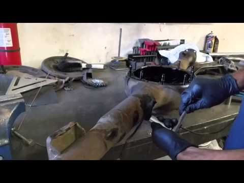 Rear Axle Differential Housing Casing Refurbish Kasper's 1965 2+2 Ford Mustang Fastback - Day 63