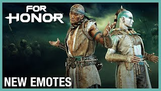For Honor: New Emotes | Weekly Content Update: 06/11/2020 | Ubisoft [NA]