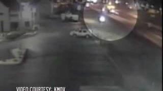 Surveillance Video of Josh Hancock's Crash