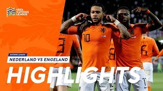 Highlights: Nederland - Engeland (06/06/2019) Halve finale Nations League