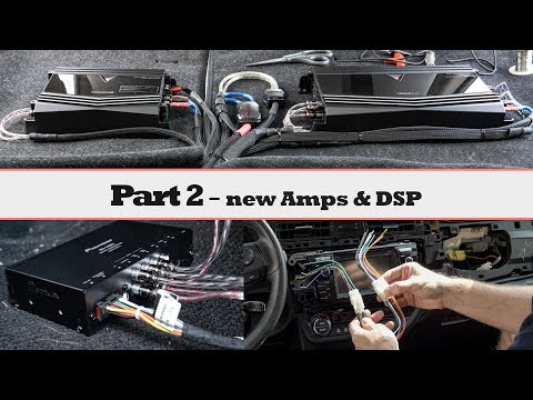 Full Car Audio System Installation - Phase 2, New Amps, Pioneer DSP