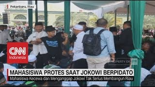 Download Video Mahasiswa Protes Saat Jokowi Berpidato MP3 3GP MP4