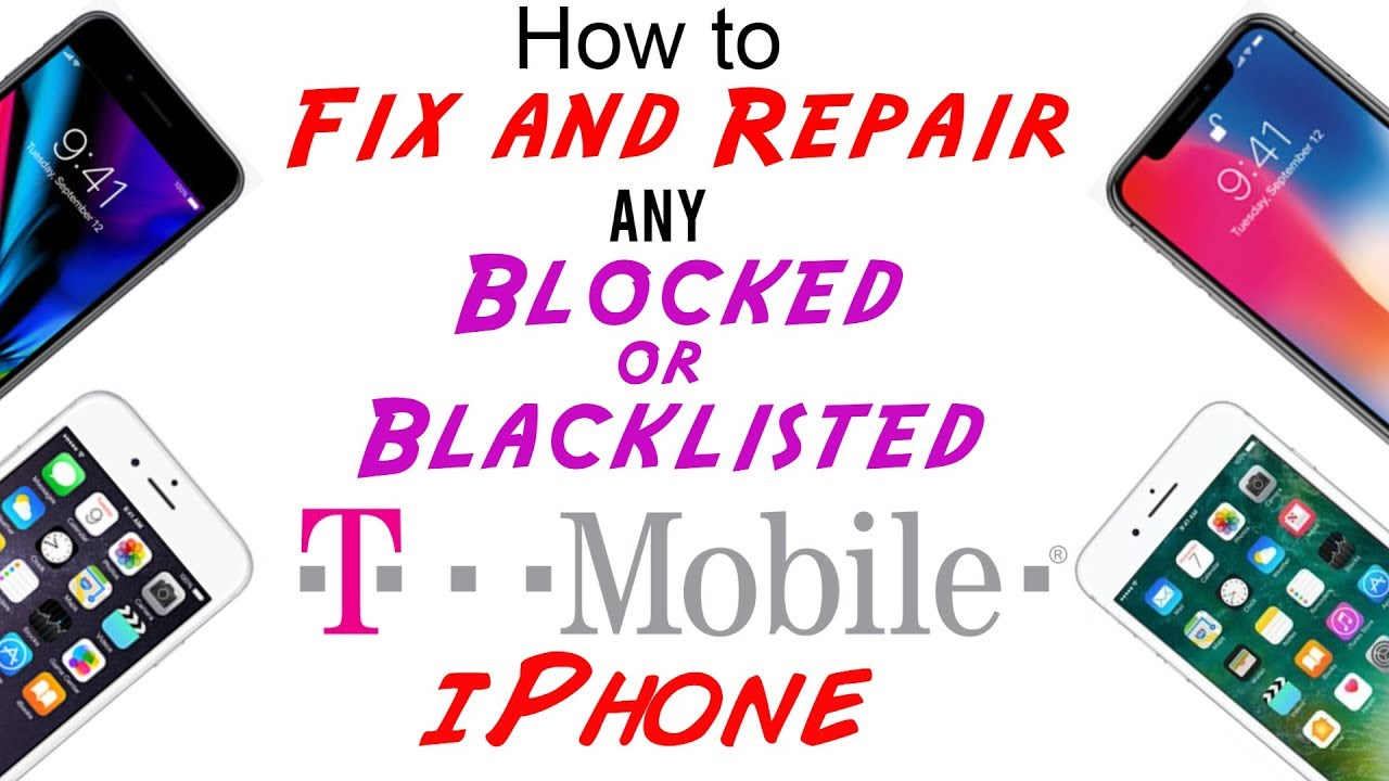 t mobile iphone 5 fix repair t mobile blocked blacklisted imei cleaning for 2810