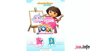 Jeu Dora l'Exploratrice : Dessine avec Dora iPad