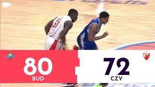 ABA LIGA: Budućnost - Crvena zvezda 80:72 | Pregled utakmice