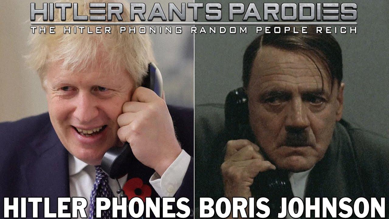 Hitler phones Boris Johnson