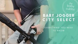 Baby Jogger City Select Stroller HOW-TO