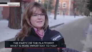 The party or the platform; what is more important to you? | Outburst