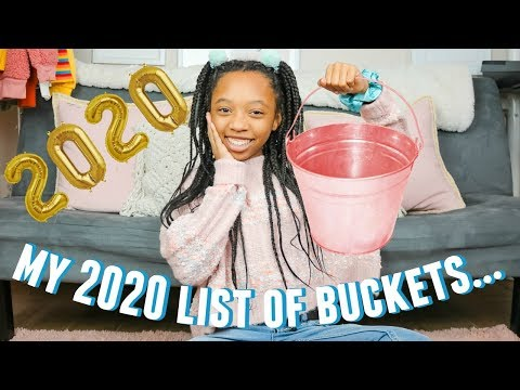 2020 BUCKET LIST/ GOALS FOR 2020 | new years resolutions | Just Jordyn