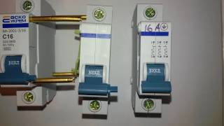 видео Автоматический выключатель ВМ40 (ВМ 40) - расшифровка, маркировка, характеристики, цена