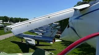 Tu-144 (Ту-144) deploying retractable canards / Monino Central Air Force Museum