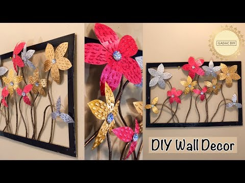 Unique wall hanging| wall hanging craft ideas| gadac diy| paper crafts| craft ideas| diy wall decor