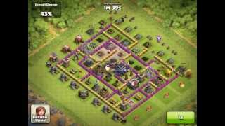 Clash of Clans - Ballon Attack at 2400 trophies by cjtwisters