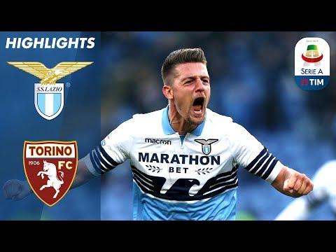 Lazio 1-1 Torino   2 Red Cards! Milinković Goal Cancels Out Belotti opener!   Serie A