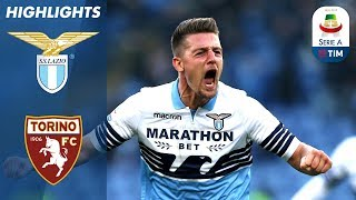 Lazio 1-1 Torino | 2 Red Cards! Milinković Goal Cancels Out Belotti opener! | Serie A