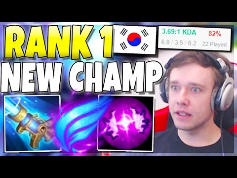 The champion the RANK 1 KOREA Is ABUSING now (82% Winrate) - Journey To Challenger | LoL
