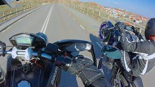 ducati hypermotard vs ducati diavel 50 160 km h mt 07 wheelies