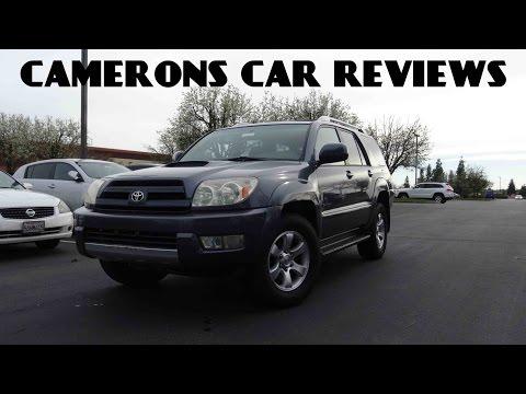 2005 Toyota 4Runner Sport Edition 4.0 L V6 Review | Camerons Car Reviews