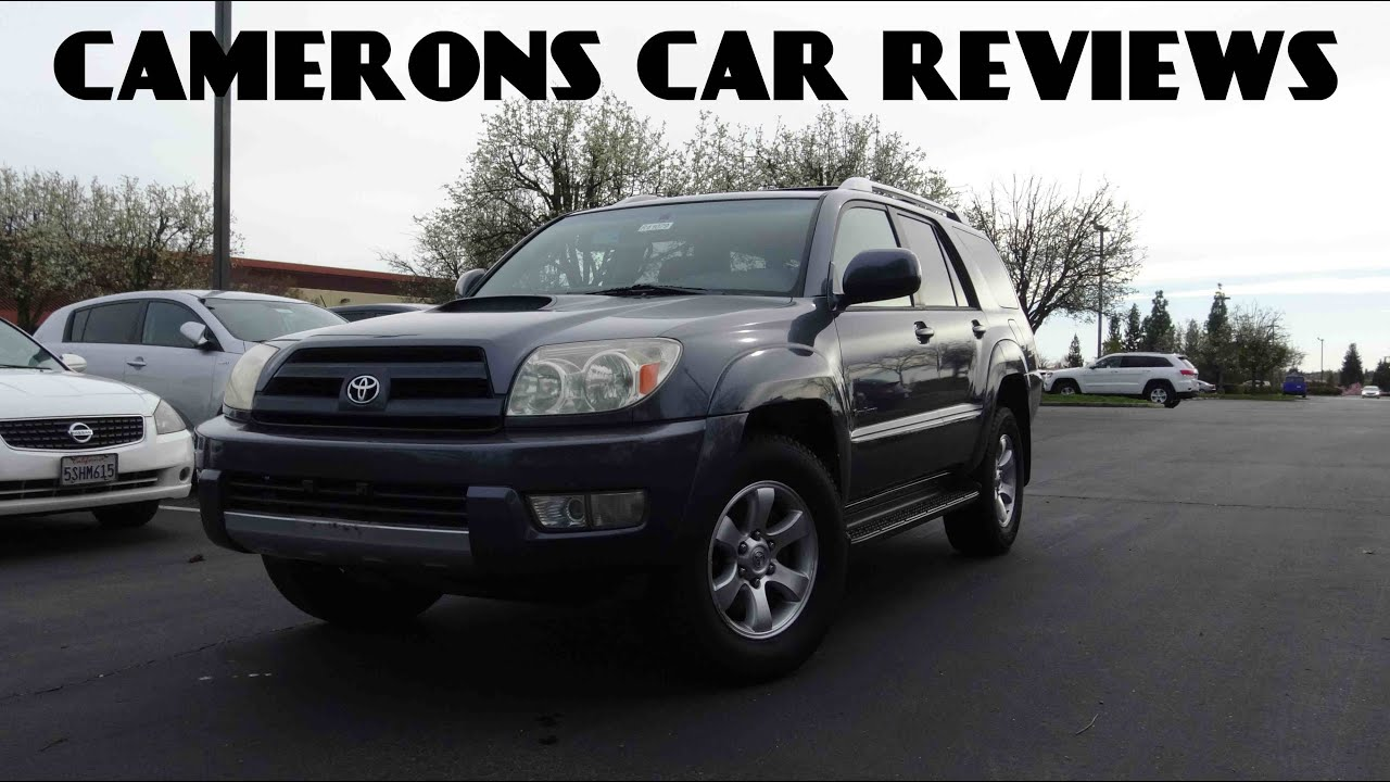 2005 Toyota 4Runner Sport Edition 4.0 L V6 Review | Camerons Car Reviews    YouTube