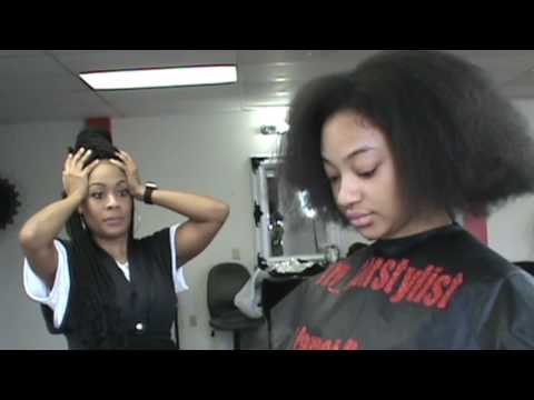 JJ's World Episode 72:  Natural Hair Transformation With Sunjai, Star and Sky