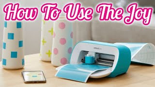 How to Use Cricut Joy. Design Space tutorial with Cell Phone