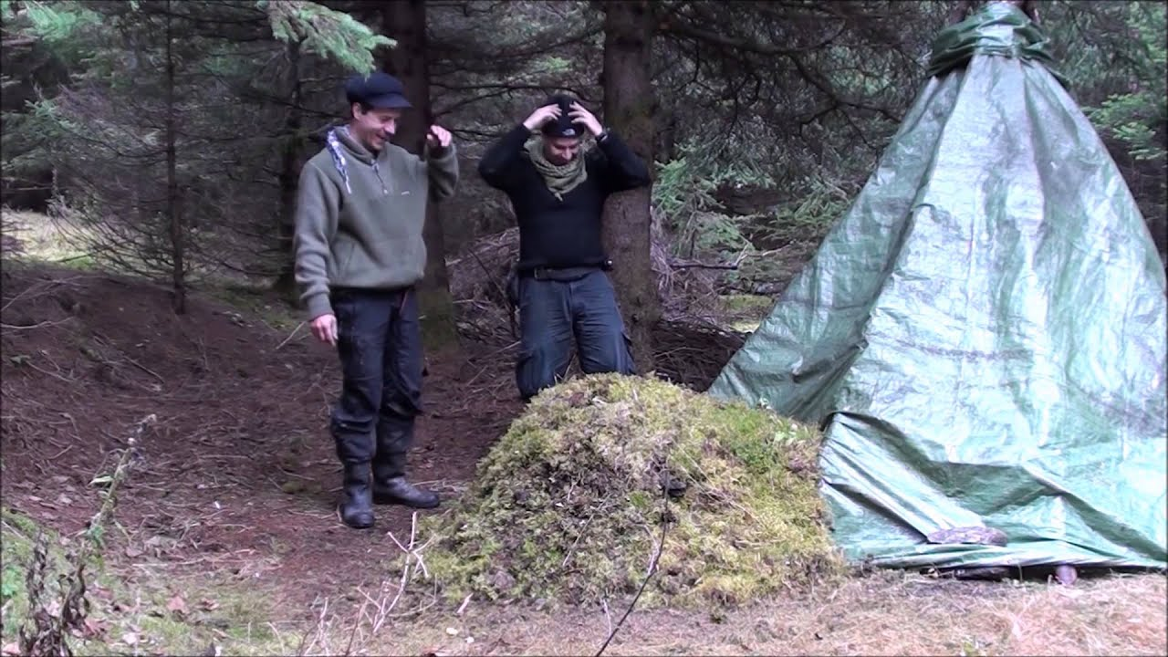 how to build a stone shelter