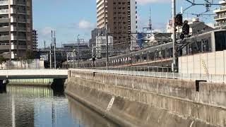 ◆7両編成 207系 快速 学研都市線と6両編成 201系 おおさか東線 「一人ひとりの思いを、届けたい JR西日本」◆ thumbnail