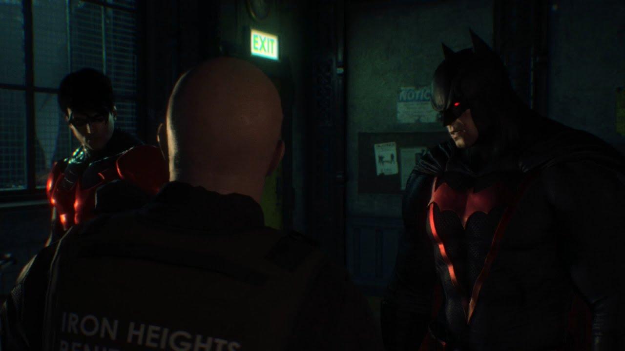 Batman Arkham Origins Earth 2 Dark Knight Skin