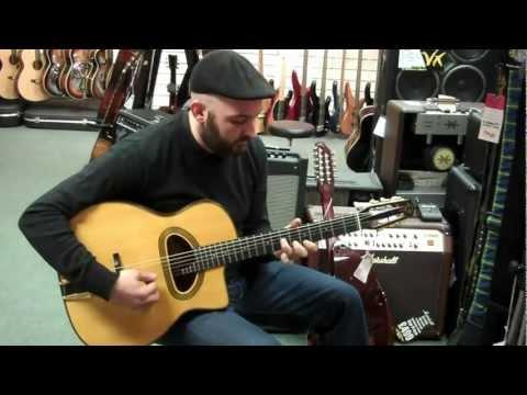 Yianni Playing a Gitane D 500 Guitar