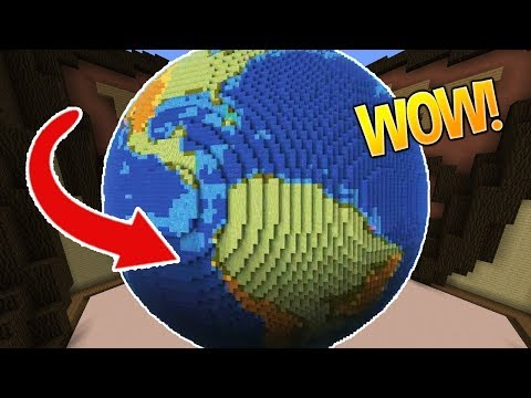 THE EARTH IS FLAT!! (Minecraft Build Battle)