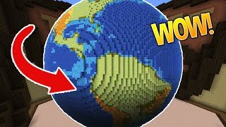 the earth is flat minecraft build battle