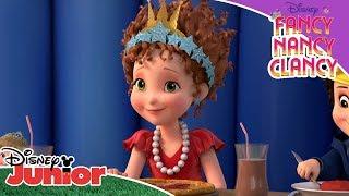 👑 Królowa Nancy i JoJo | Fancy Nancy Clancy | Disney Junior Polska