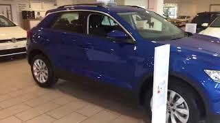 Brand New T-Roc SE 1.5Tsi 150Ps in Ravenna Blue Metallic