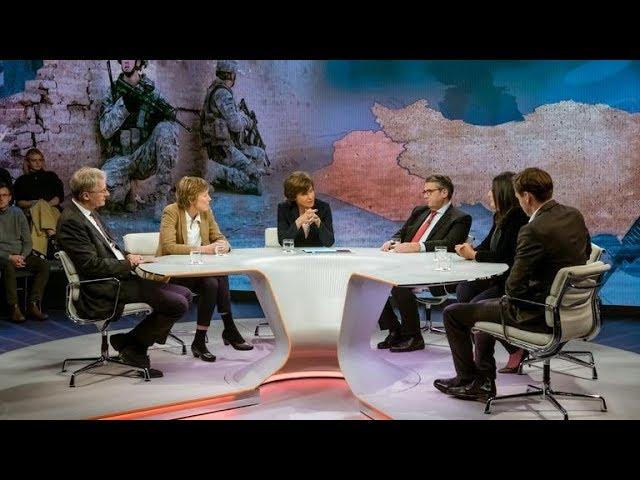 Maybrit Illner 09.01.2020 USA gegen Iran – ein vertagter Krieg?