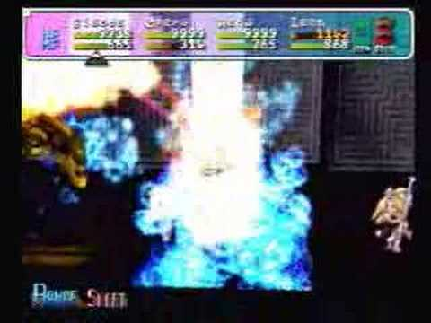 Star Ocean 2nd Story - Cave of Trials Lv10/11 2 Bosses!