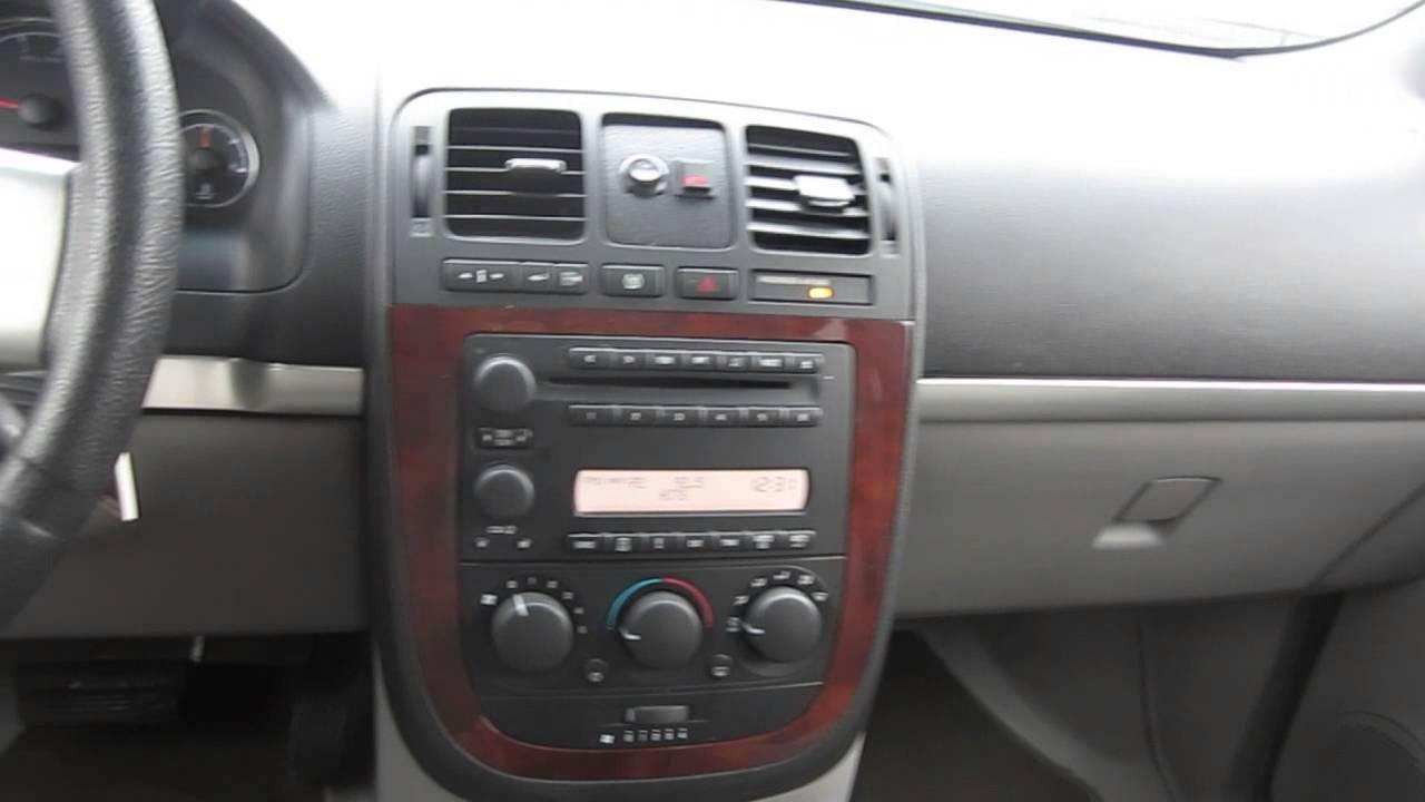 2005 Chevrolet Uplander White Stock 220670 Interior Youtube