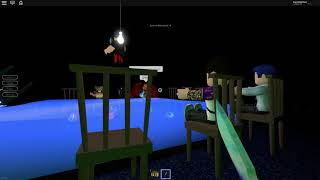 Playing Kill row - Breaking Point - Roblox