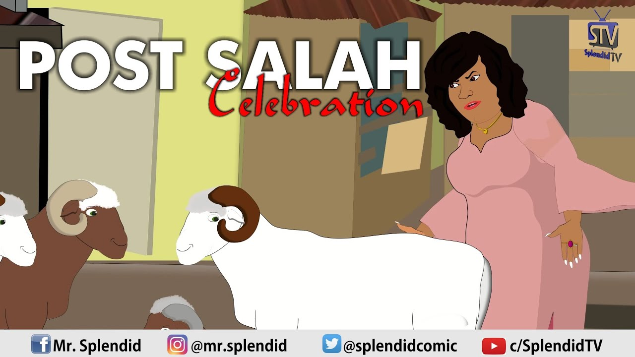 POST SALAH CELEBRATION (Splendid TV) (Splendid Cartoon)