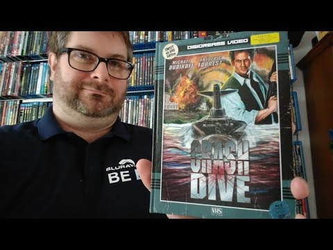Unboxing CRASH DIVE (Limited Mediabook VHS-Edition)