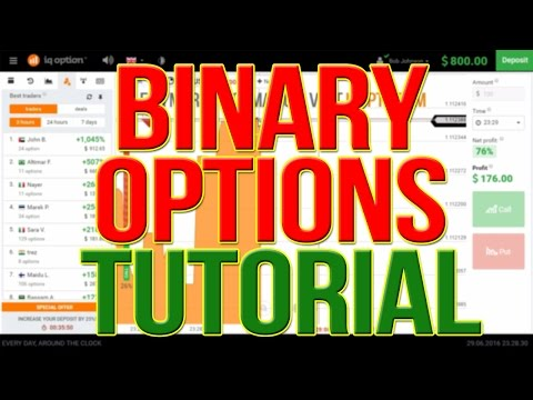 BINARY OPTIONS TUTORIAL 2016: BINARY TRADING – BINARY OPTIONS STRATEGY 2016, IQ OPTION STRATEGY 2016