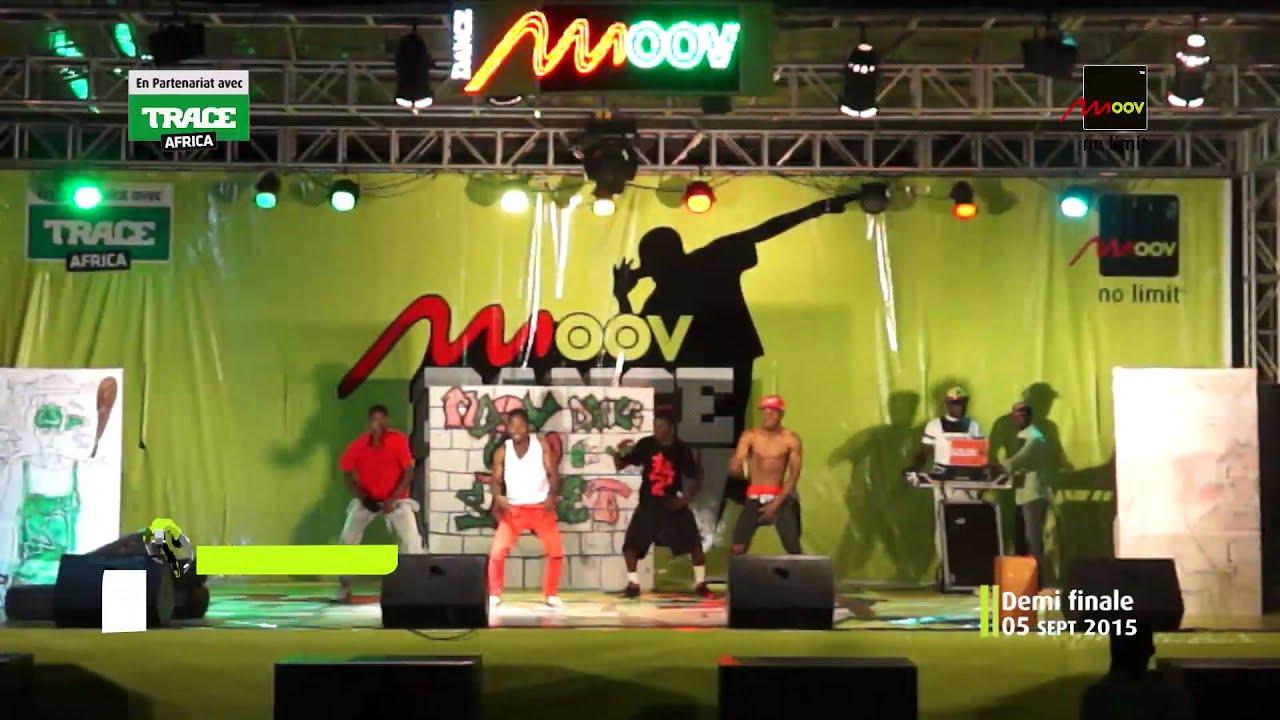 Moov Bénin: Demi-finale du Moov Dance Crew