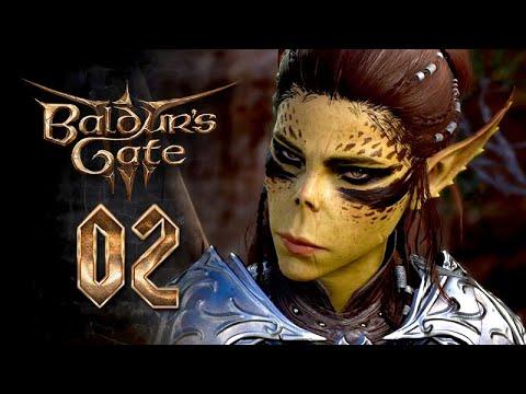 Download Baldur's Gate 3 – Movie Series / All Cutscenes ★ #2: The Druid Grove 【Viona / Half-Elven Wizard】