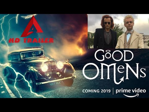 GOOD OMENS-2019|SEASON 1TEASER TRAILER|David Tennant|Adria Arjona|Michael Sheen