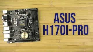 материнская плата Asus H170I-PRO