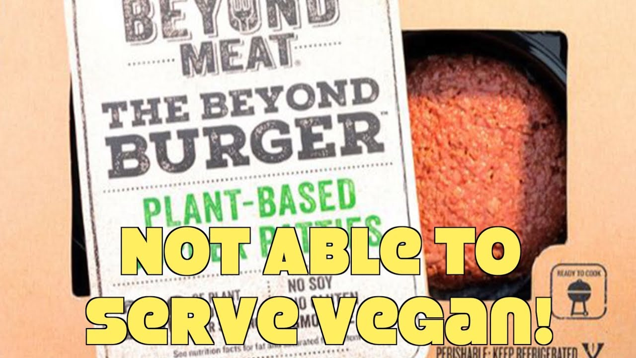 Restaurant Refuses To Serve Vegan Burger w/o Dairy! WTF?